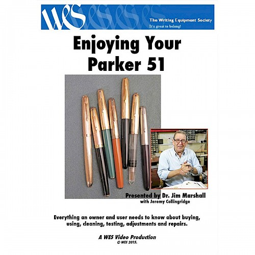 WES DVD - Enjoying Your Parker 51