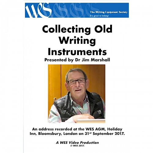 WES DVD - Collecting Old Writing Instruments