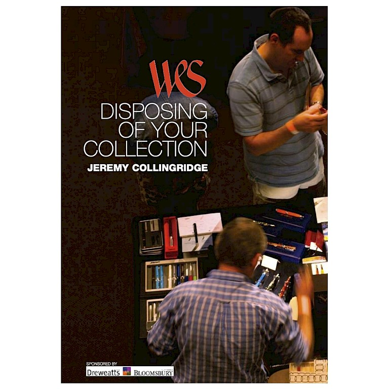 WES Booklet 'Disposing of Your Collection'