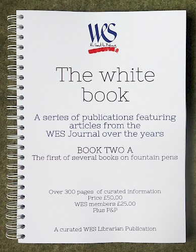 WES White Book 2A - Fountain Pens